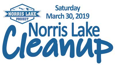Norris Lake Clean Up logo.