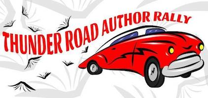Thunder Road Author Rally logo.